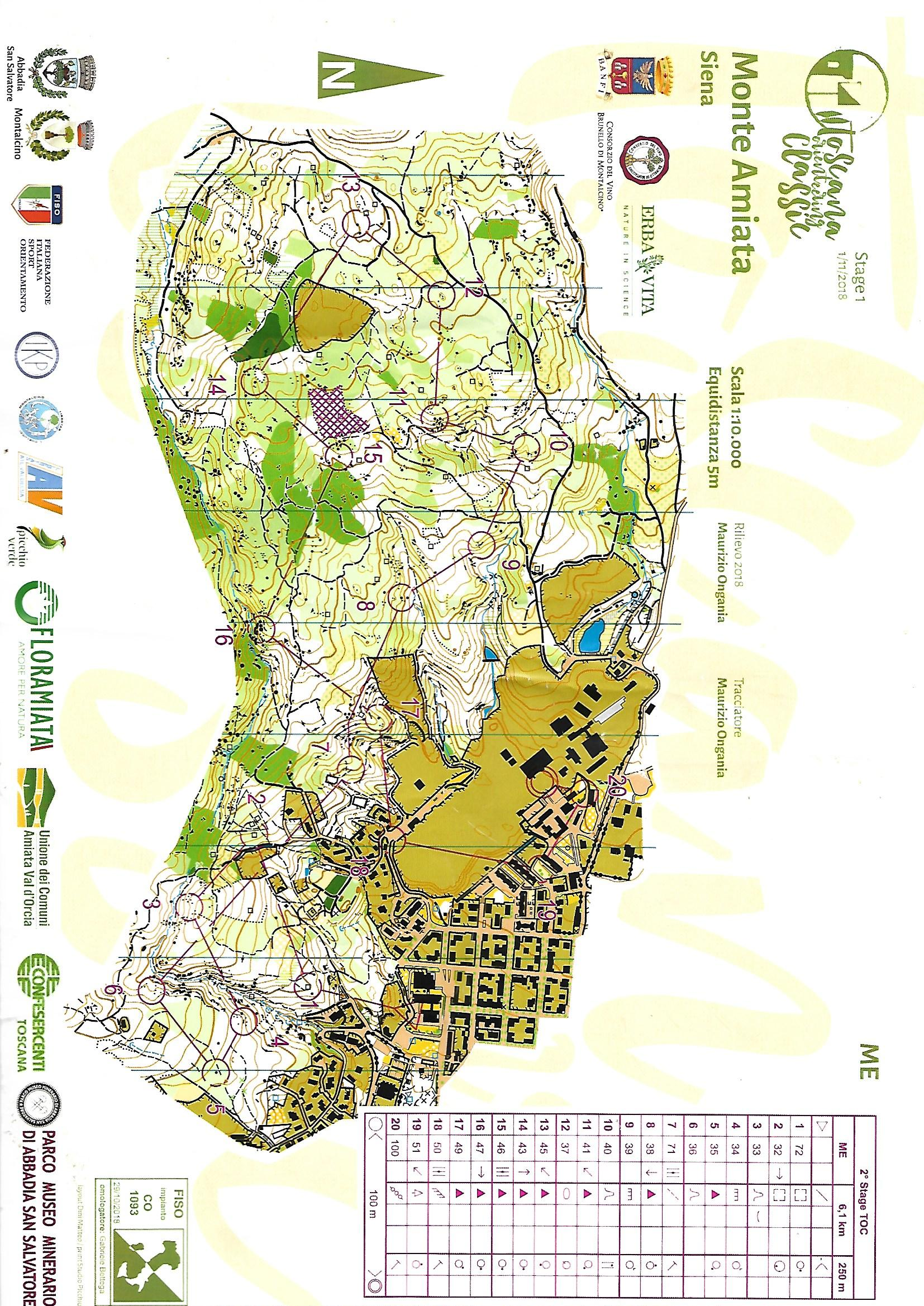 Toscany Orienteering Classic - Tappa 2 (02/11/2018)